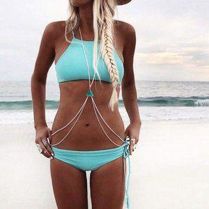 Body Chain Brandy Melville Bra Waist Belly Jewelry